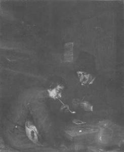 Twee rokende mannen