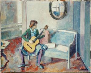 De gitariste (Marja Lieuwen)