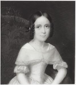 Portret van Johanna Margaretha Sloet van Lindenhorst (1839-1915)