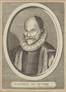 Portret van Emanuel van Meteren (1535-1612)