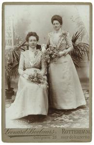 Portret van Lena en Marie du Buisson