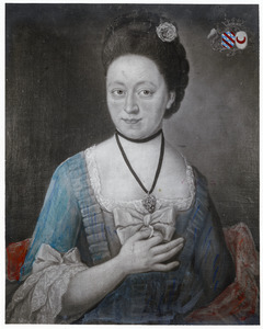 Portret van Adriana Frederica Johanna Sloet tot Lindenhorst (1746-1815)