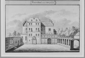 Voorzijde van Rosendael bij Arnhem