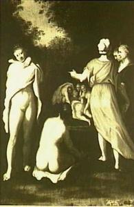 De ontdekking van de zwangerschap van Callisto (Ovidius, Metamorfoses 2:442-453)