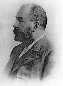 Portretfoto van Dmitry Ivanovich Shchukin (1855-1932)