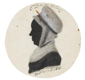 Portret van Elisabeth Boterhoven (1752-1833)