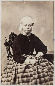 Portret van Joukje Lourens van der Mey (1848-1869)