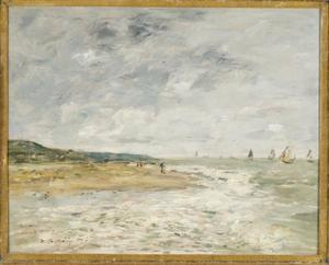 De kust bij Deauville