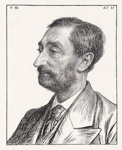 Portret van Pieter Jacob Cosijn (1840-1899)