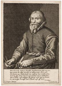 Portret van Jan Adriaensz. Leeghwater (1575-1650)