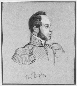 Portret van waarschijnlijk Willem Thierrij Arnold Maria van Brienen van de Groote Lindt (1814-1863)