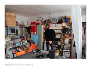 Johan Gustavsson in zijn studio