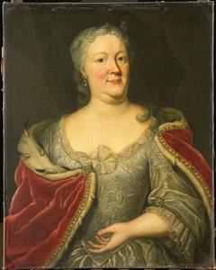Portret van Antoinette Amalia von Braunschweig-Wolfenbüttel (1696-1762)