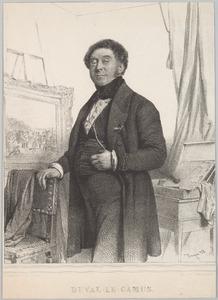 Portret van Pierre Duval-Lecamus (1790-1854)