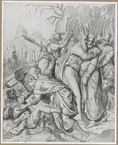 De gevangenneming van Christus in de Hof van Olijven