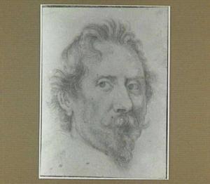 Portret van de schilder Déodat Delmont (1582-1644)