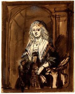 Portret van Maria Trip (1619-1683)