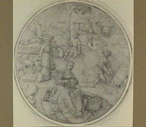 Scene uit Vergilius' Tweede Ecloga