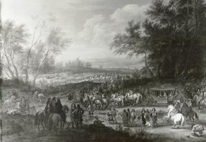 Lodewijk XIV near Vincennes