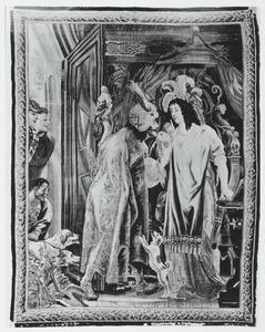 Theodosius geeft de appel aan Eudocia