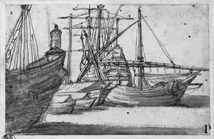 Driemaster en kleine schepen