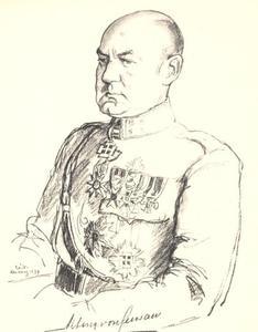 Portret van Jules Theodore Alting von Geusau (1881-1940)