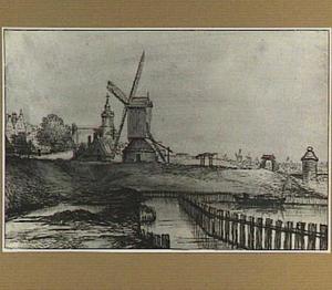 Bolwerk ten noorden van de Haarlemmerpoort te Amsterdam