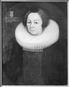 Portret van Hendrina van Goltstein (1572-1645)