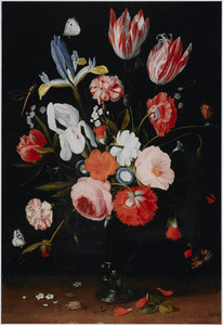 Bloemen in een roemer