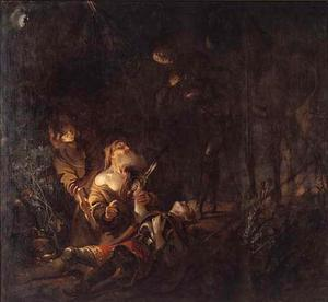 Het lijk van Prins Svend wordt gevonden (d.1079) (Tasso: Het bevrijde Jeruzalem, gezang 8)