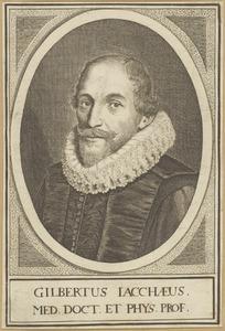Portret van Gilbertus Jacchaeus (....-1628)