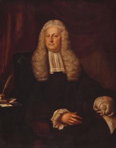 Portret van Harmen Hendrik van de Poll (1697-1772)