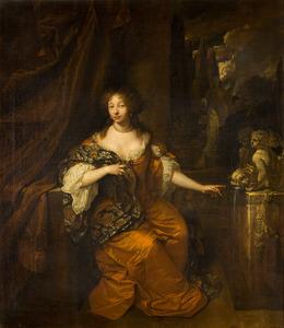 Portret van Adriana Sophia van Raesfelt (?-1694)
