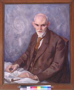 Portret van prof. dr. W. de Sitter (1872-1934)