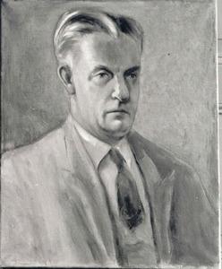 Zelfportret van de kunsthandelaar en restaurator Walter Paech (1890-1794)