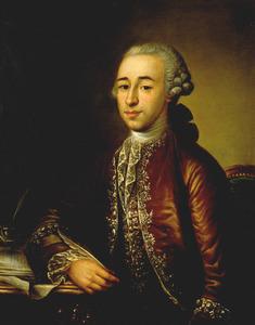 Portret van Mozes Lopes Suasso (1737-1818)