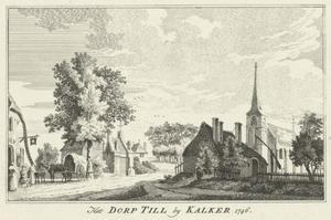 Het dorp Till bij Kalkar