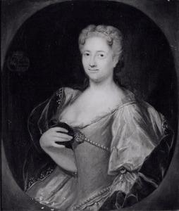Portret van Anna Maria Dorothea van Lintelo (1706-1769)
