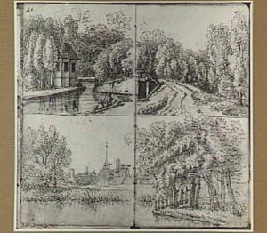 Landschappen met gebouwen