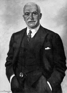 Portret van Sir Henri Deterding (1866-1939)