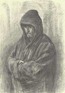 Portret van een Spaanse monnik