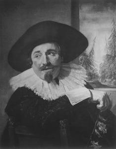 Portret van Isaac Massa (1586-1643)