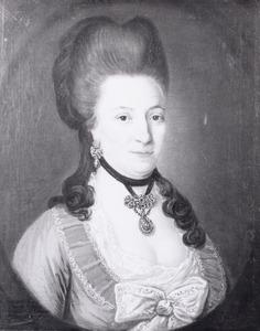 Portret van Anna Christina Fisco