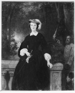 Portret van mogelijk Elisa Henriette Jeannette Caroline Dirckink (1832-1906)