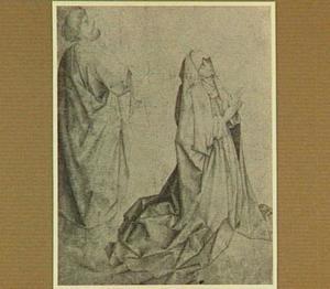 Petrus en Maria (figuren uit een Hemelvaart?)