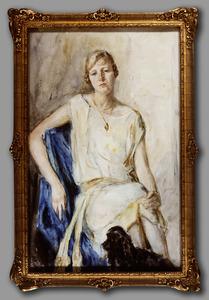 Portret van Ariane Margaretha de Brauw (1911- )