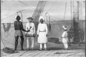 Reis van Suez naar Nagasaki via Oost-Indië: Bemanning van de Bengal