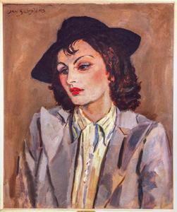 Portret van Titia Buning (1904-1961)