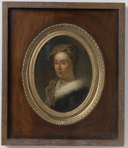 Portret van Sara Stiermans (1704-1757)