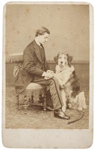Portret van een jonge man, waarschijnlijk Andries Bernhardus van Zanten (1847-1927)